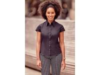 Ladies' Cap Sleeve Tencel Fitted Shirt