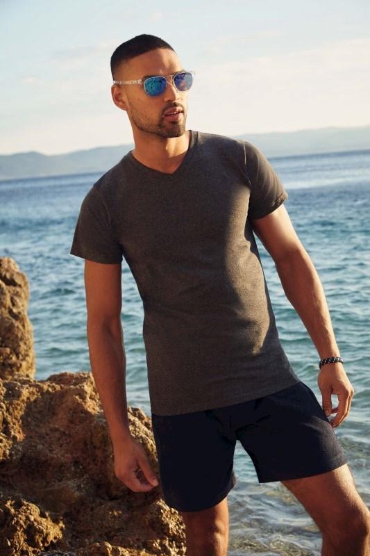 Men's Valueweight V-neck T-shirt (61-066-0)