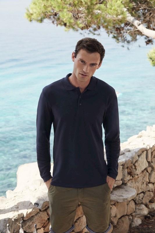 Premium Long Sleeve Polo (63-310-0)
