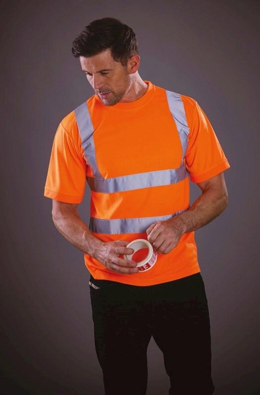 Signalisatie T-shirt met korte mouwen
