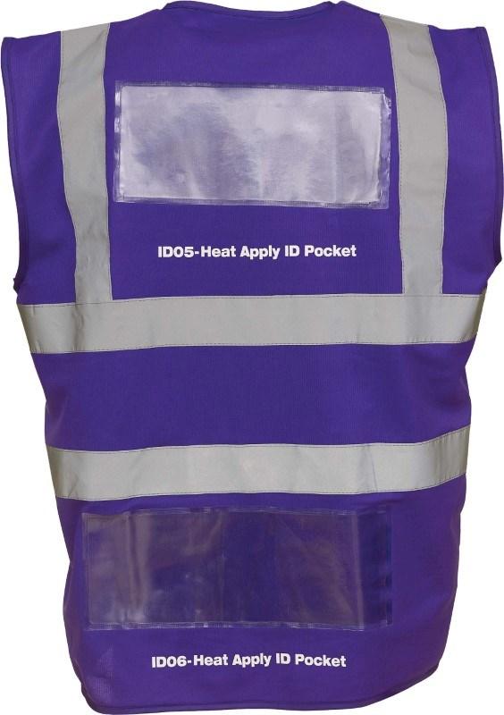 Heat Apply ID Pockets