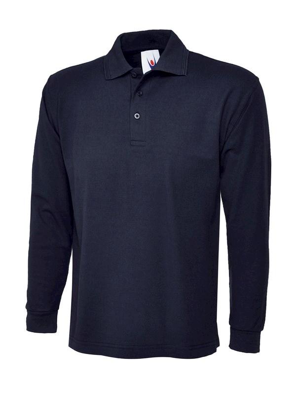 Uneek Longsleeve Poloshirt UC113
