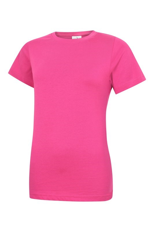 Uneek Ladies Classic Crew Neck T-Shirt UC318