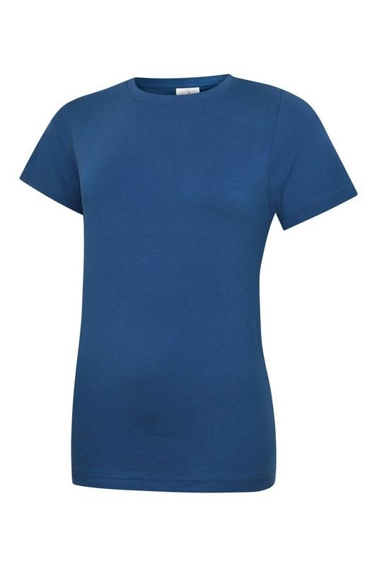 Uneek Ladies Classic Crew Neck T-Shirt UC318