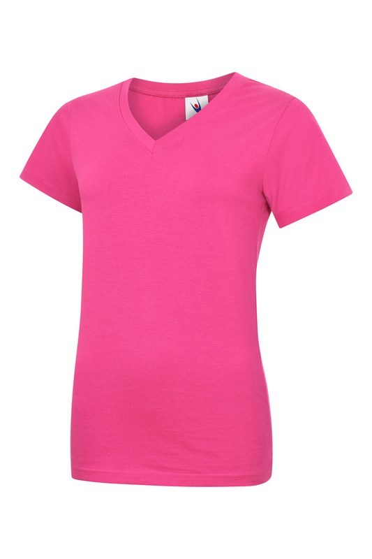 Uneek Ladies Classic V Neck T-Shirt UC319
