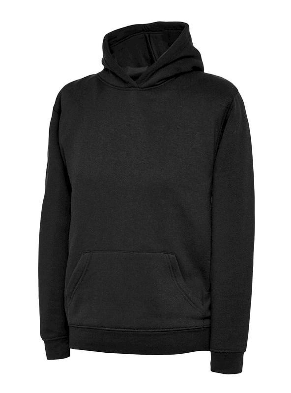 Uneek Childrens Hooded Sweatshirt UC503