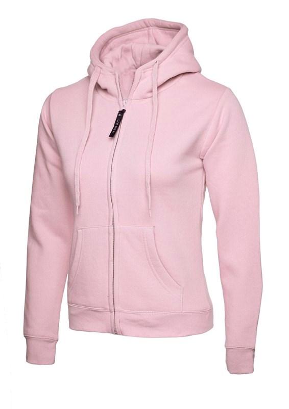 Uneek Ladies Classic Full Zip Hooded Sweatshirt UC505