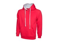 Uneek Contrast Hooded Sweatshirt UC507