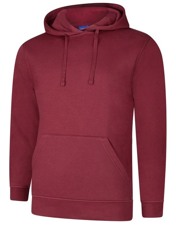 Uneek Deluxe Hooded Sweatshirt UC509