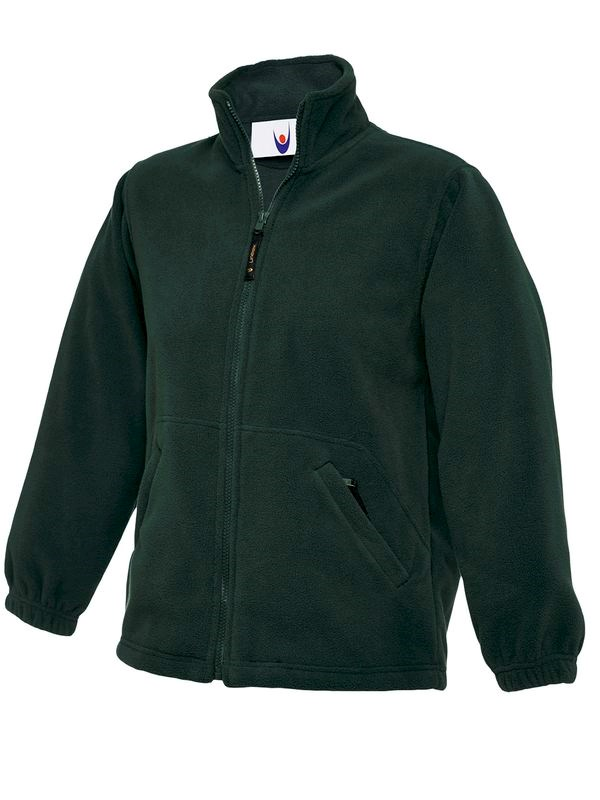 Uneek Childrens Full Zip Micro Fleece Jacket UC603