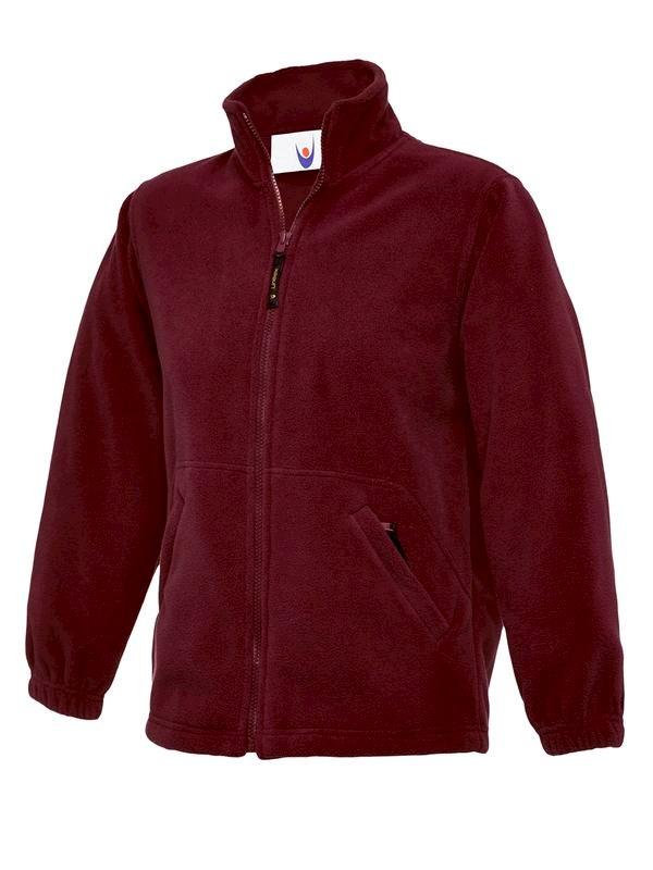 Uneek Childrens Full Zip Micro Fleece Jacket UC603