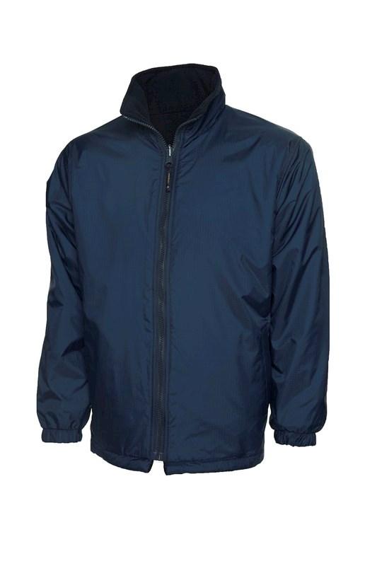 Uneek Childrens Reversible Fleece Jacket UC606