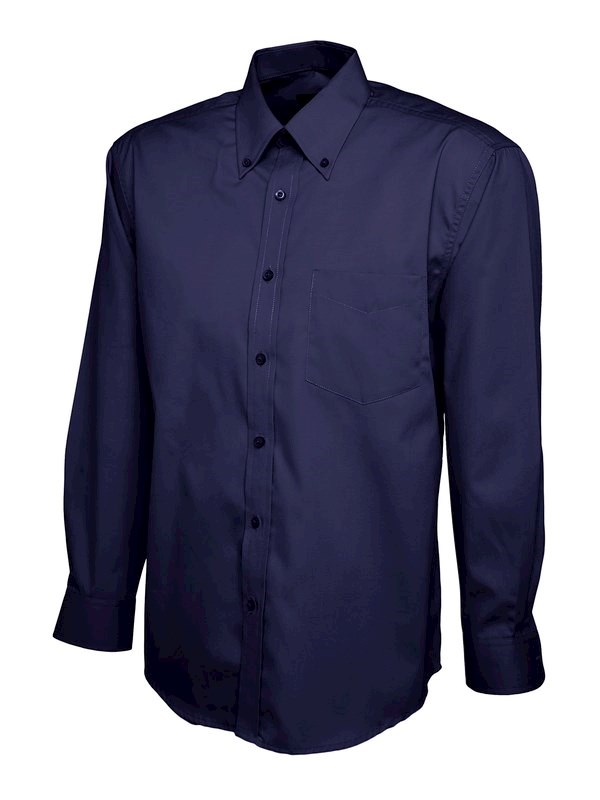 Uneek Mens Pinpoint Oxford Full Sleeve Shirt UC701