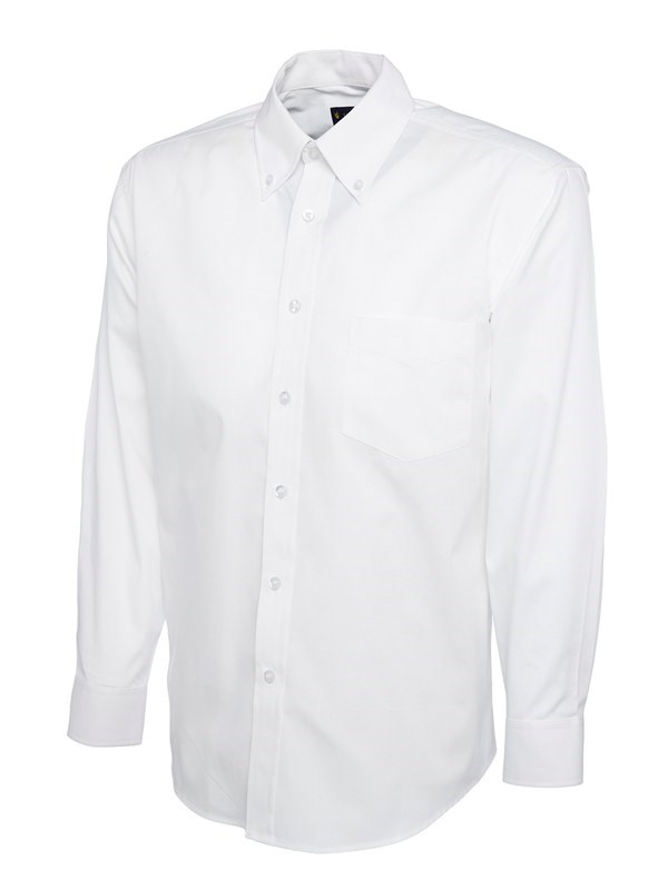 Uneek Mens Pinpoint Oxford Full Sleeve Shirt UC701