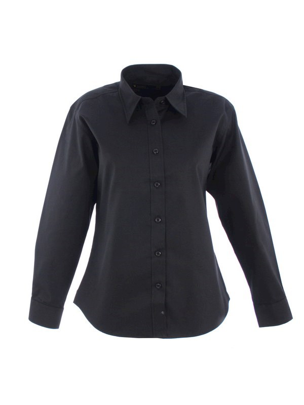 Uneek Ladies Pinpoint Oxford Full Sleeve Shirt UC703