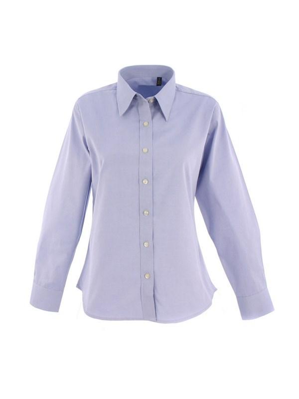 Uneek Ladies Pinpoint Oxford Full Sleeve Shirt UC703
