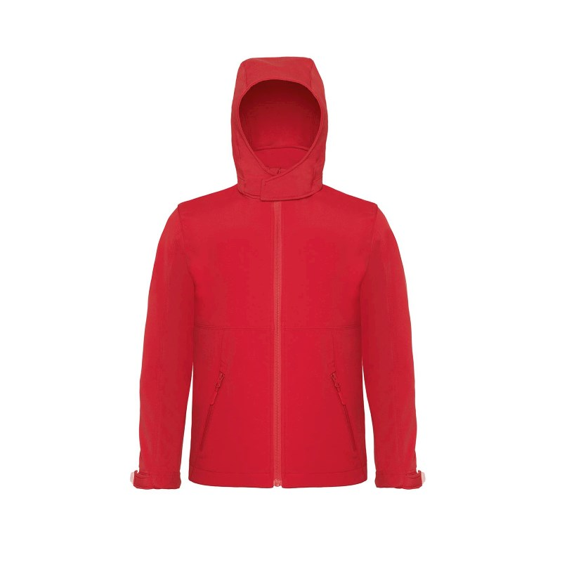 B&C Hooded Softshell kids