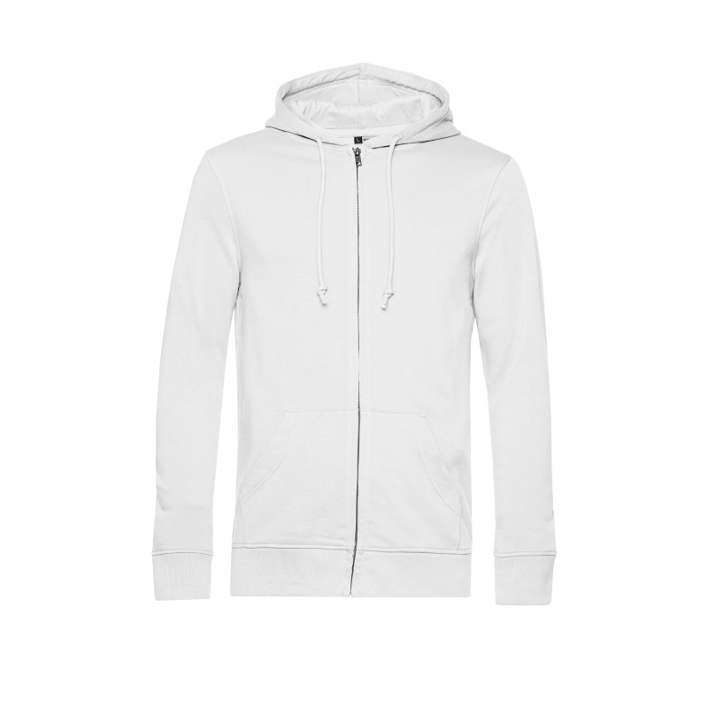 B&C Organic Zipped Hood