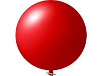 Reuzenballon onbedrukt Hart