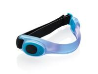 Veiligheids LED armband, blauw