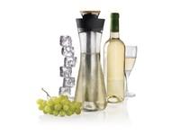 Gliss witte wijnkaraf, zwart