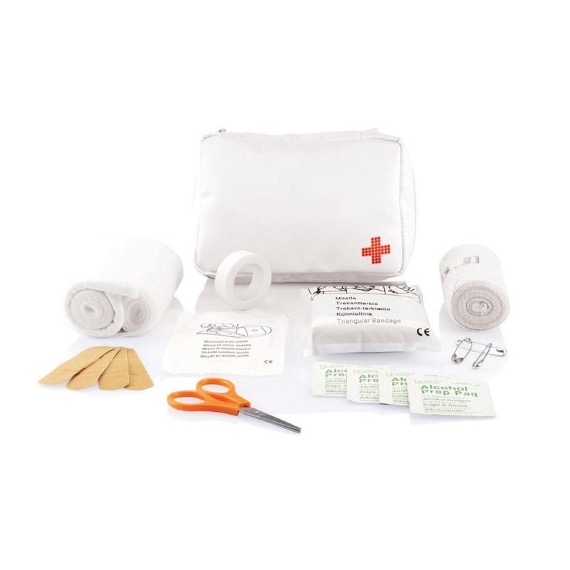 Verzendbare eerste hulp set, wit