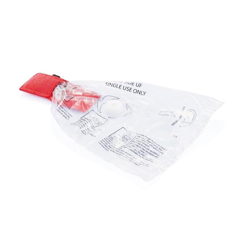 Eerste hulp beademingsmasker, rood