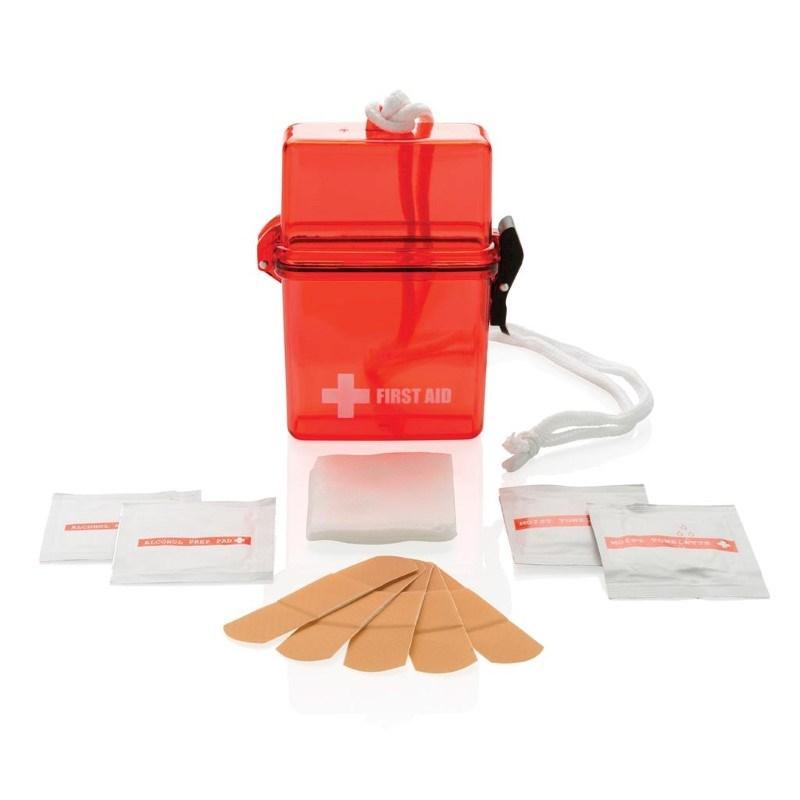 Waterdichte EHBO kit, rood