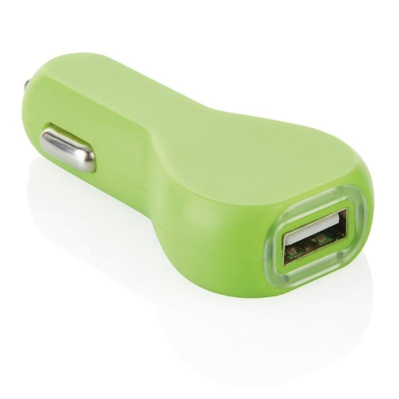 USB autolader, groen