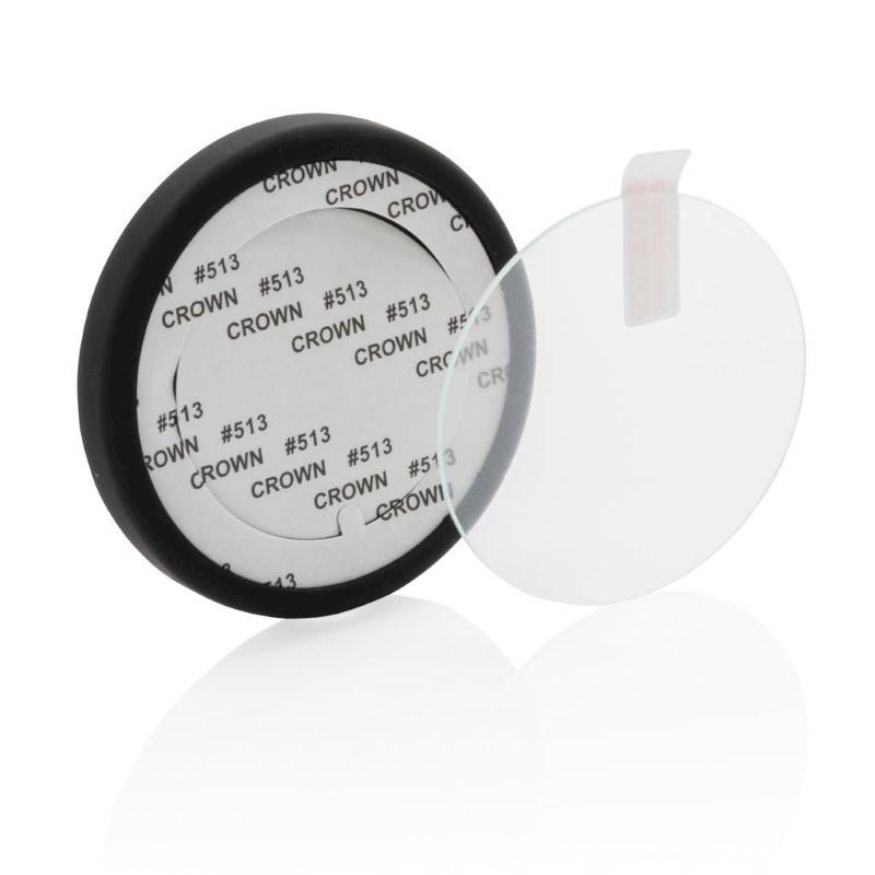 5W draadloze oplader tempered glass, zwart