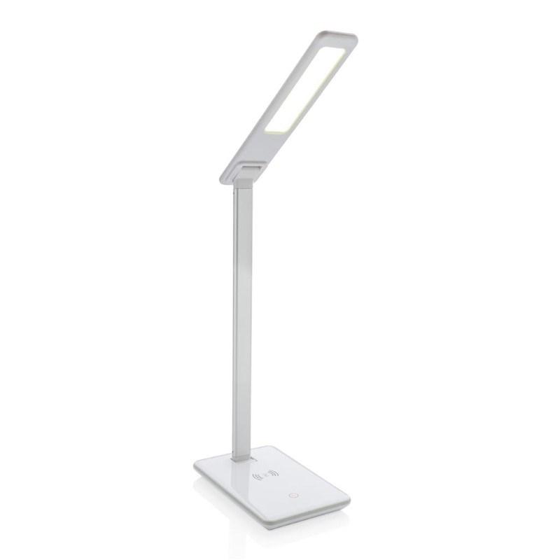 5W draadloos opladen bureau lamp, wit
