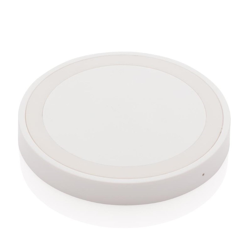 5W draadloze oplader rond, wit