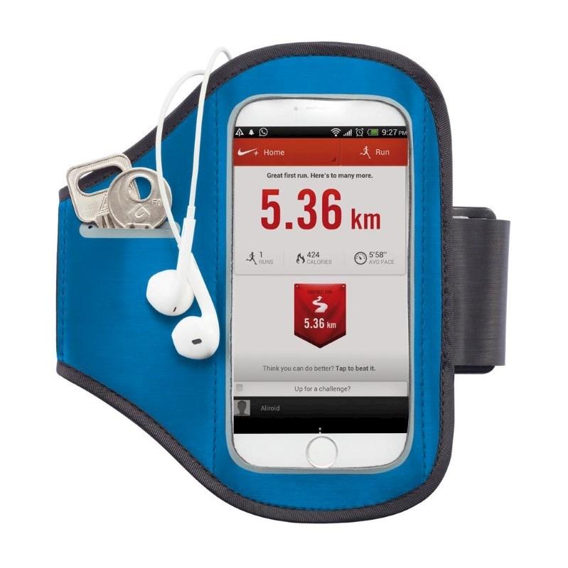 Universele telefoon sport armband, blauw