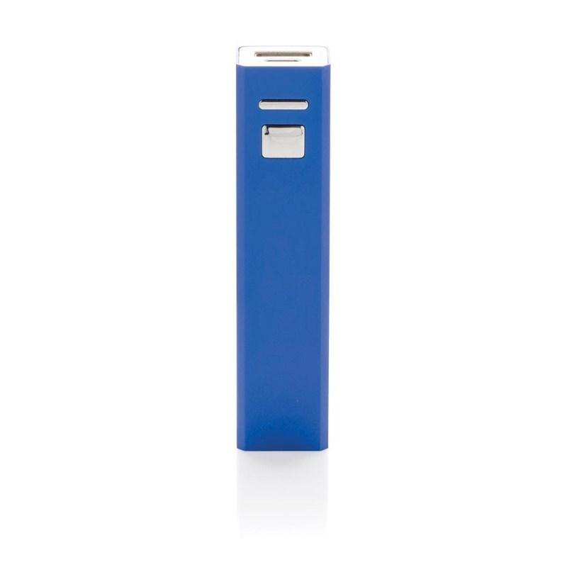 2.200 mAh powerbank, blauw