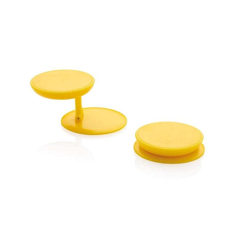 Stick 'n Hold telefoon standaard, geel