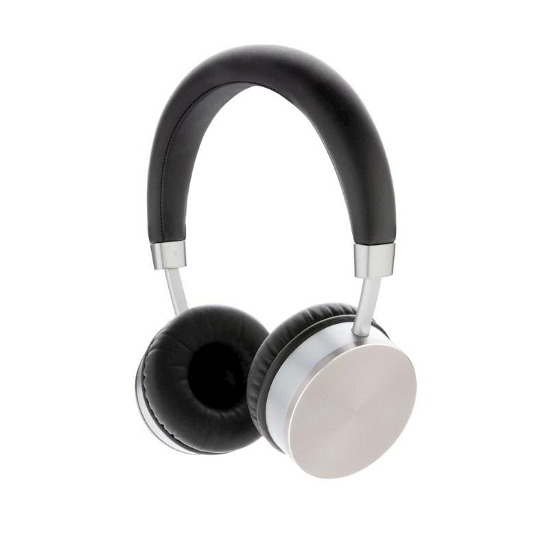 Draadloze hoofdtelefoon, grijs