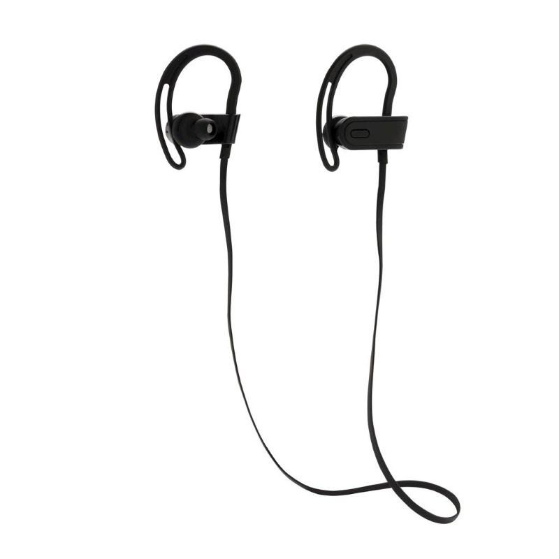 Draadloze sport oortelefoon, zwart