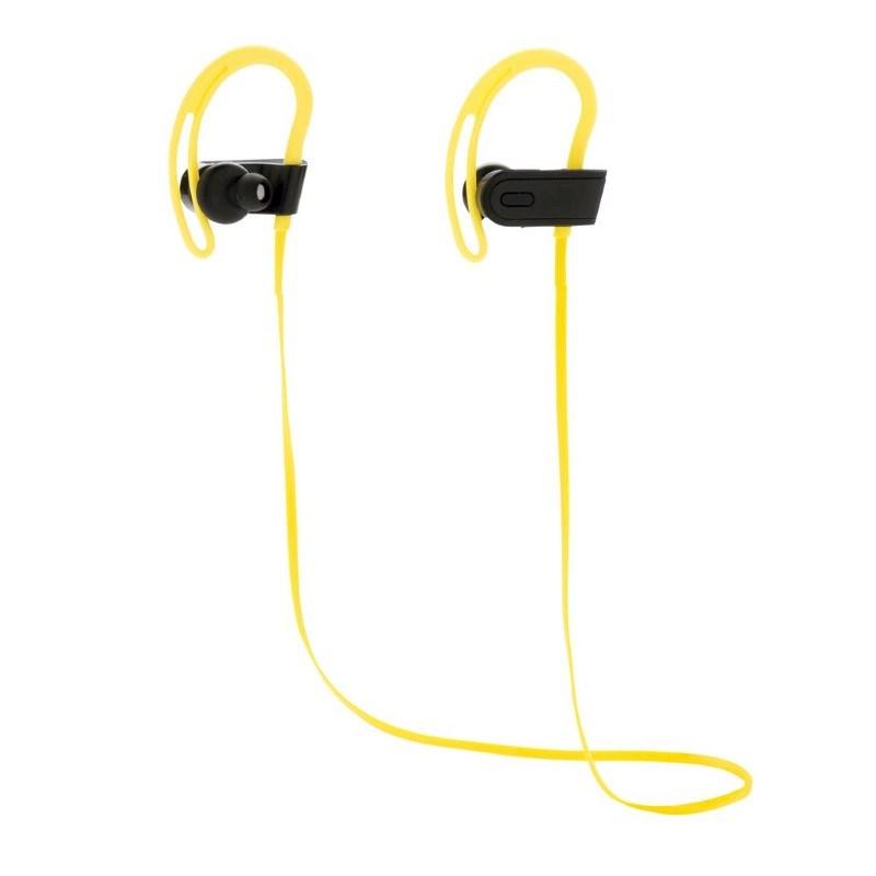 Draadloze sport oortelefoon, limegroen