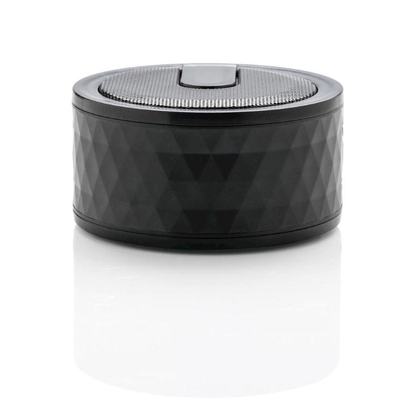 Geometric draadloze speaker, zwart