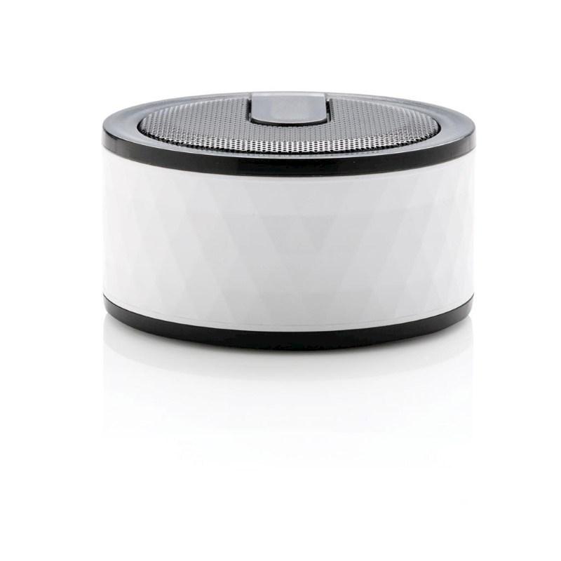 Geometric draadloze speaker, wit