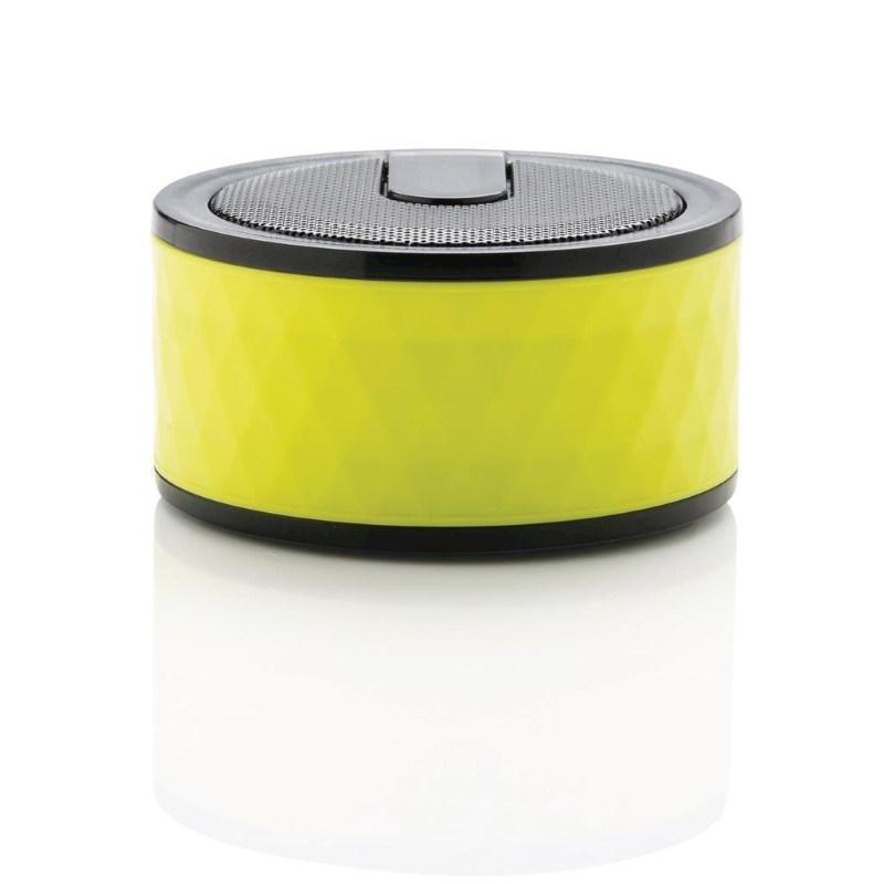 Geometric draadloze speaker, limegroen