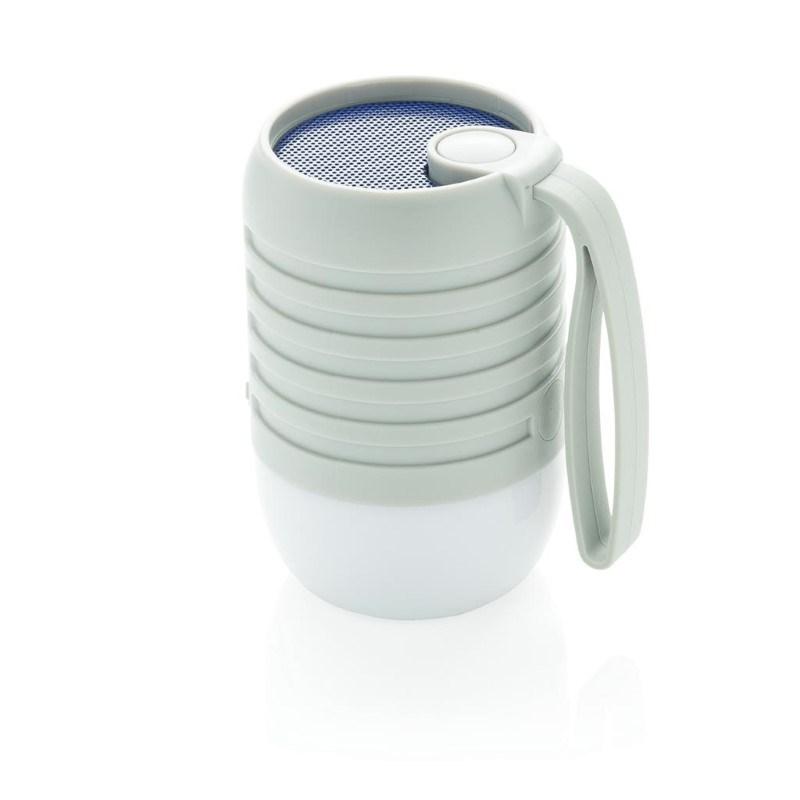 Kleurwisselende speaker lamp, grijs