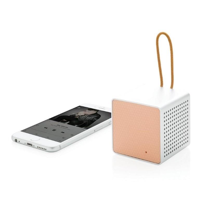 Vibe draadloze 3W speaker, roze