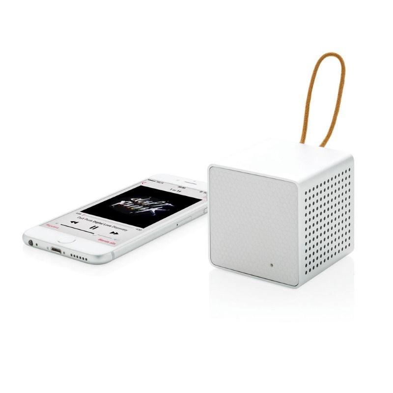 Vibe draadloze 3W speaker, wit