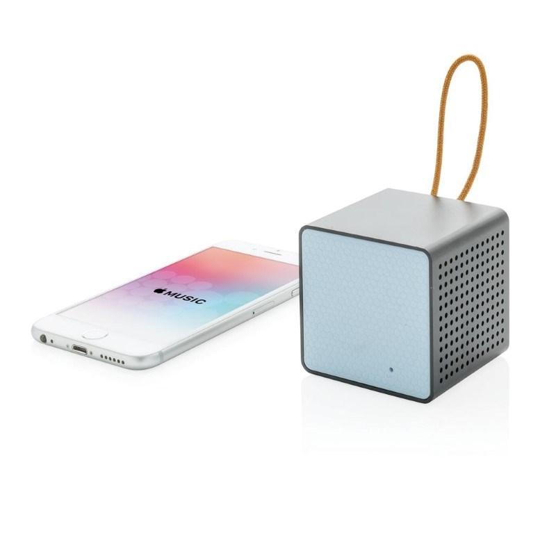 Vibe draadloze 3W speaker, blauw