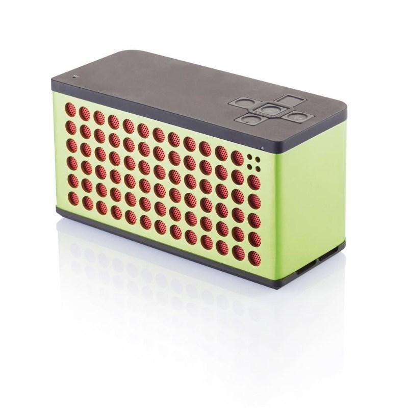 Sound bass speaker groot, groen/rood