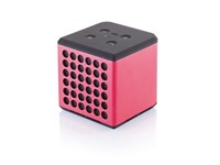 Sound bass speaker medium, rood/zwart