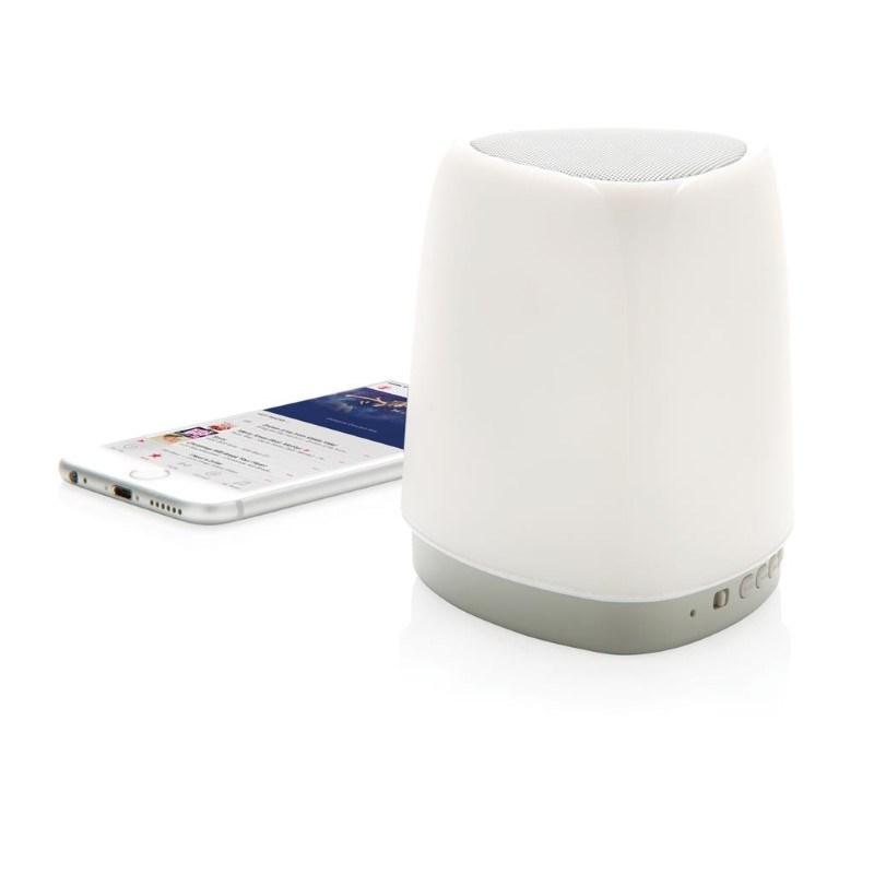 Kleurwisselende speaker lamp, wit