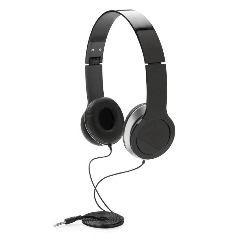 Basic hoofdtelefoon, zwart