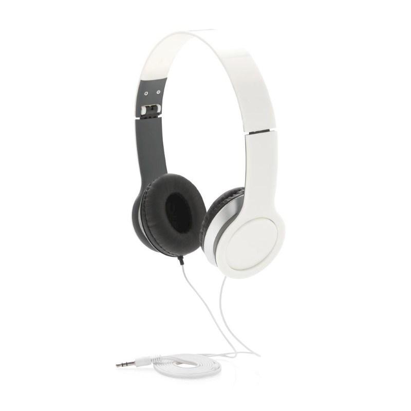 Basic hoofdtelefoon, wit